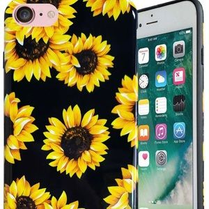 Brand new iPhone 7/8 sunflower case
